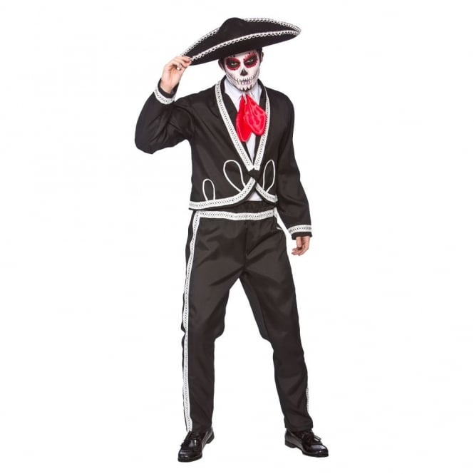 Deluxe Mariachi - Day Of The Dead - Adult Costume