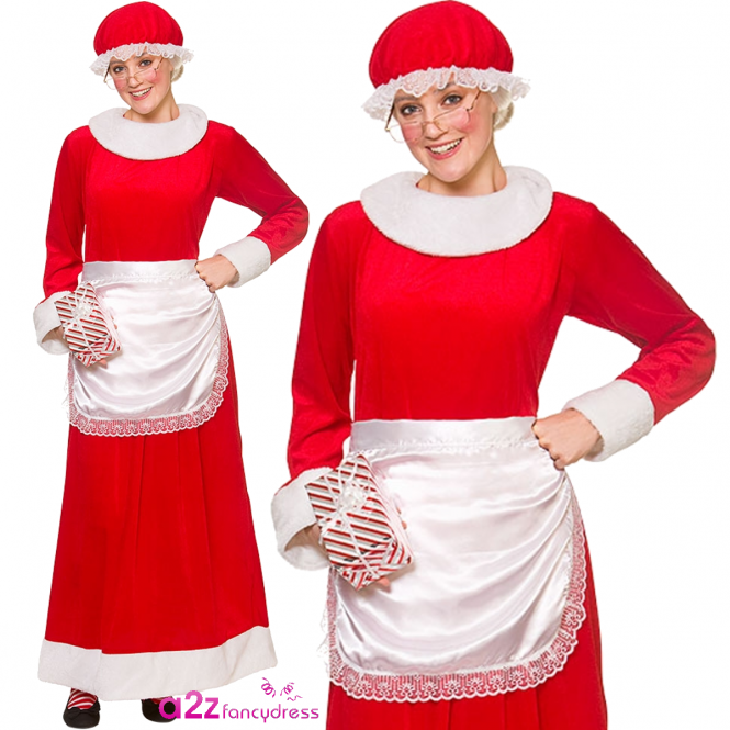 Deluxe Mrs Santa Claus - Adult Costume