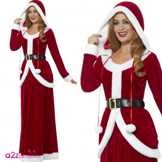 Deluxe Ms Claus - Adult Costume