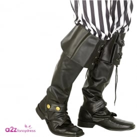 Deluxe Pirate Bootcovers - Adult Accessory