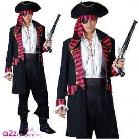 Deluxe Pirate Captain - Adult Costume