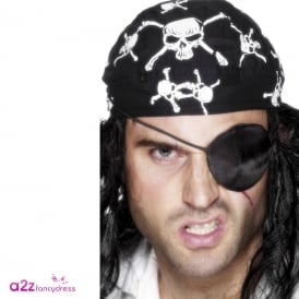 Deluxe Pirate Eyepatch - Adult Accessory