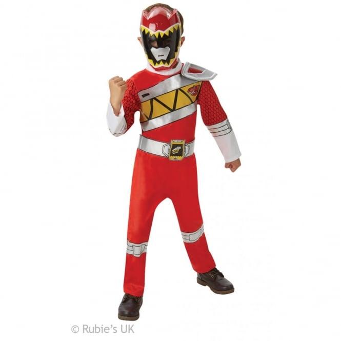 Deluxe Red Power Ranger (Dino Charge) - Kids Costume  sc 1 st  a2z Fancy Dress & POWER RANGERS ~ Deluxe Red Power Ranger (Dino Charge) - Kids Costume ...