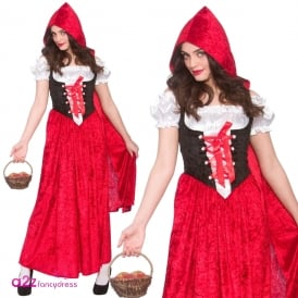 Deluxe Red Riding Hood - Adult Costume