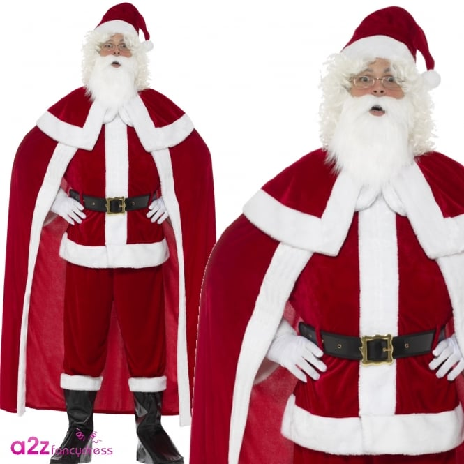 Deluxe Santa Claus - Adult Costume