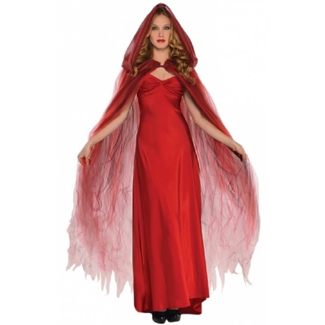 Deluxe Scarlet Temptress Cape - Adult Accessory