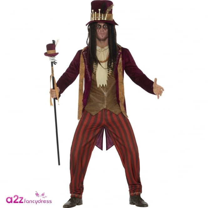 Deluxe Voodoo Witch Doctor - Adult Costume