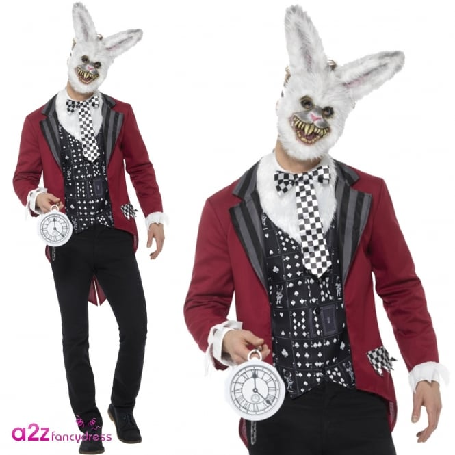 Deluxe White Rabbit - Adult Costume
