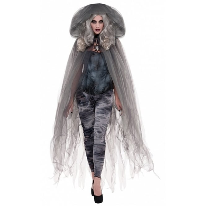 Deluxe Zombie Ghost Cape - Adult Accessory