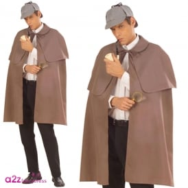 Detective Cape With Tippet - Adult Accessory