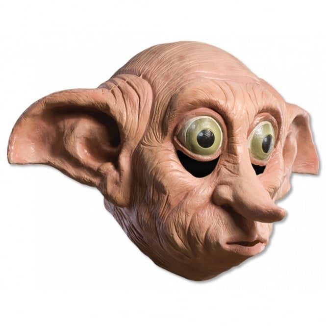 HARRY POTTER ~ Dobby Latex Mask - Adult Accessory
