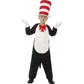 Dr Seuss Cat In The Hat - Kids Costume