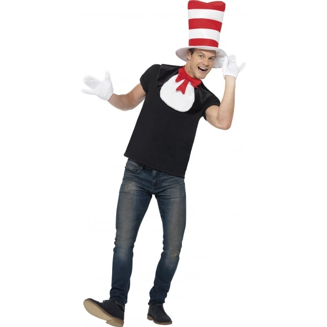 Dr Seuss Cat In The Hat Kit - Adult Accessory