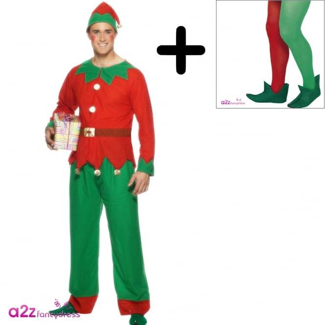 Elf - Adult Costume Set (Costume, Boots)