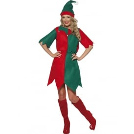 Elf - Adult Ladies Costume