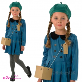 Evacuee Girl - Kids Costume