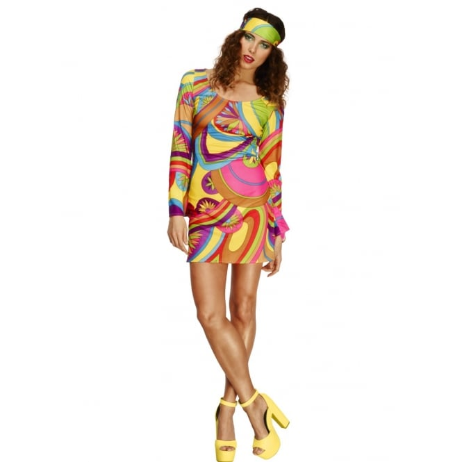 Fever 70s Flower Power - Adult Costume