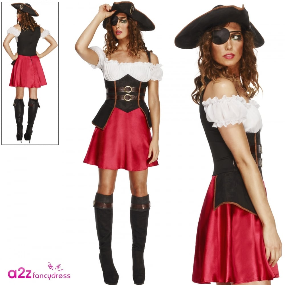Fever Pirate Wench - Adult Costume