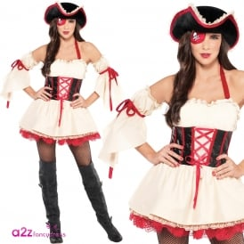 Foxy First Mate - Adult Costume