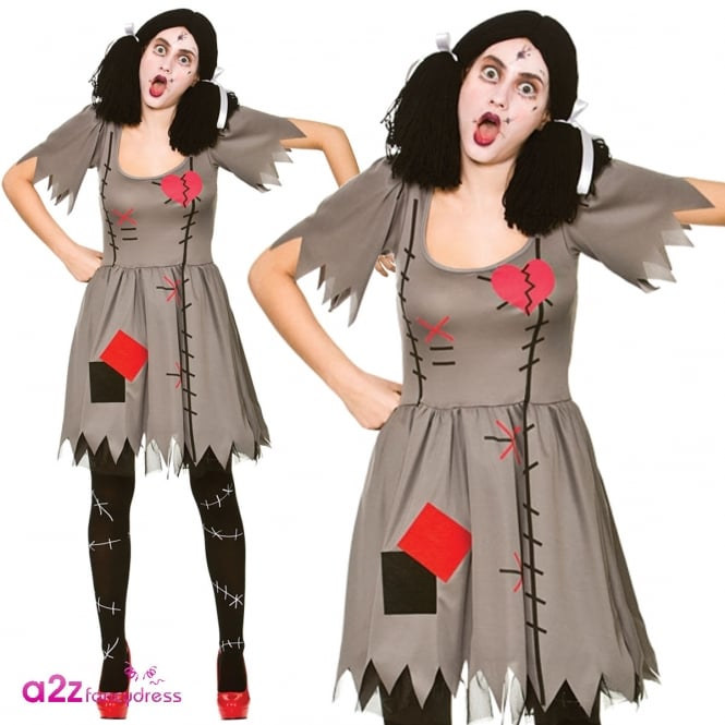 Freaky Voodoo Doll - Adult Costume