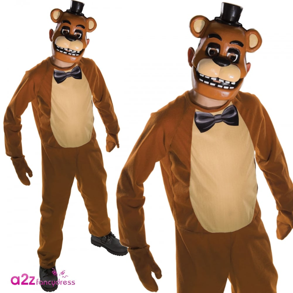 Official Five Nights At Freddy/'s Halloween Costumes Child Fancy Dress Outfit