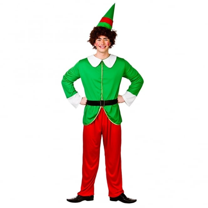 Funny Elf Guy - Adult Costume