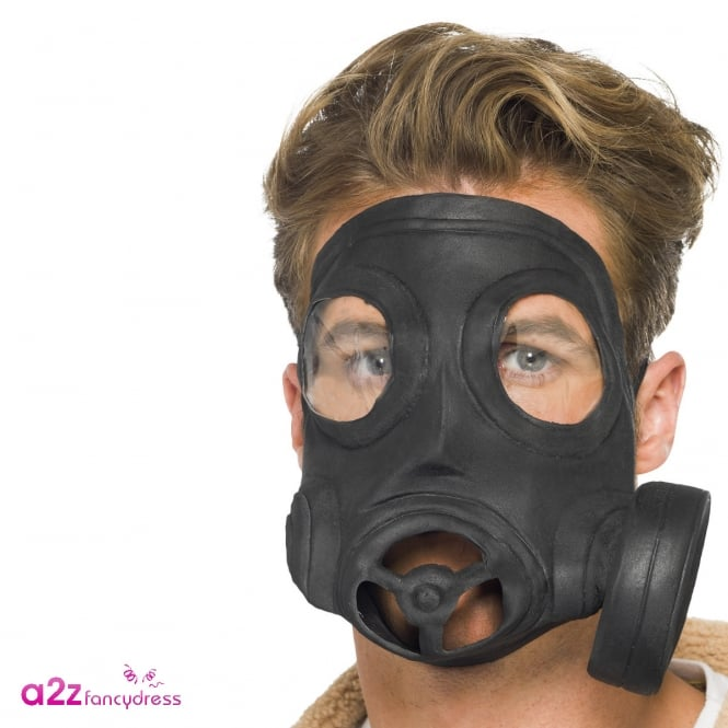 Gas Mask - Adult Accessory