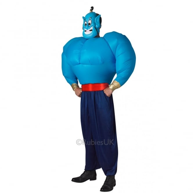 DISNEY ~ Genie (Aladdin) with Inflatable Torso - Adult Costume