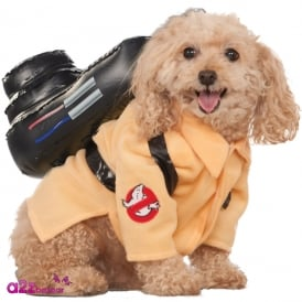 Ghostbusters Dog Costume - Pet Accessory