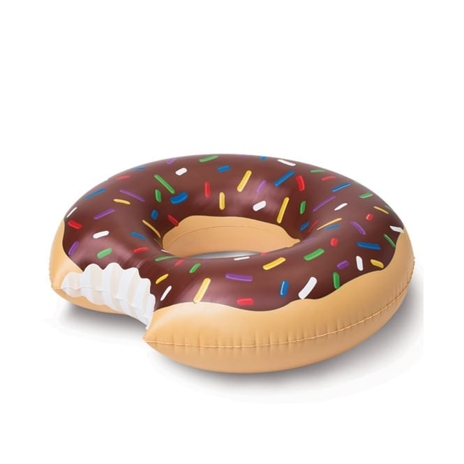 Giant Chocolate Donut Pool Float - Accessory