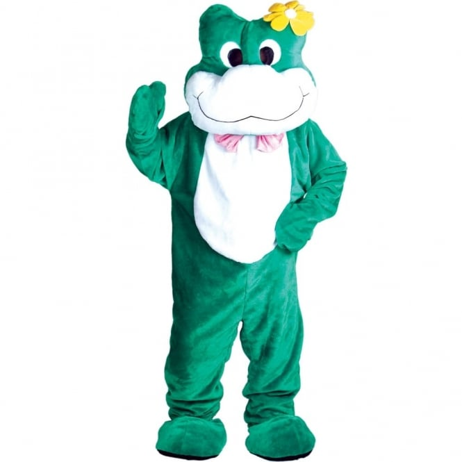 Giant Deluxe Frog Mascot - Adult Costume
