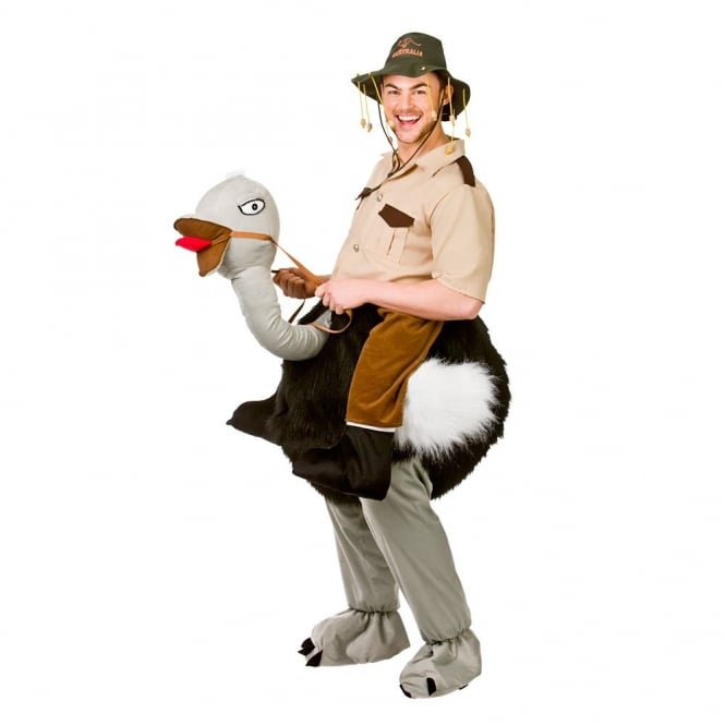 "Giant ""Ride On"" Ostrich - Adult Costume"