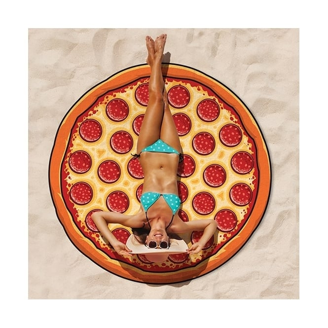 Gigantic Pizza Beach Blanket - Accessory
