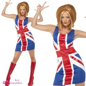 Ginger Power 1990s Icon - Adult Costume