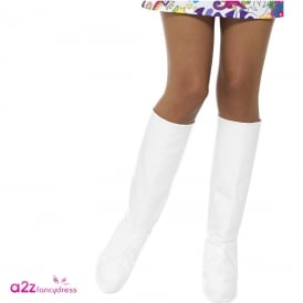 GoGo Boot Covers (White) - Adult Accessory