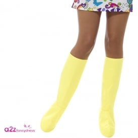 GoGo Boot Covers (Yellow) - Adult Accessory