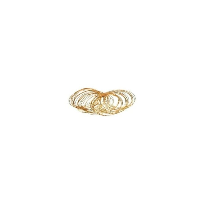 Gold Bangle Bracelets (Pack of 50) - Accessory