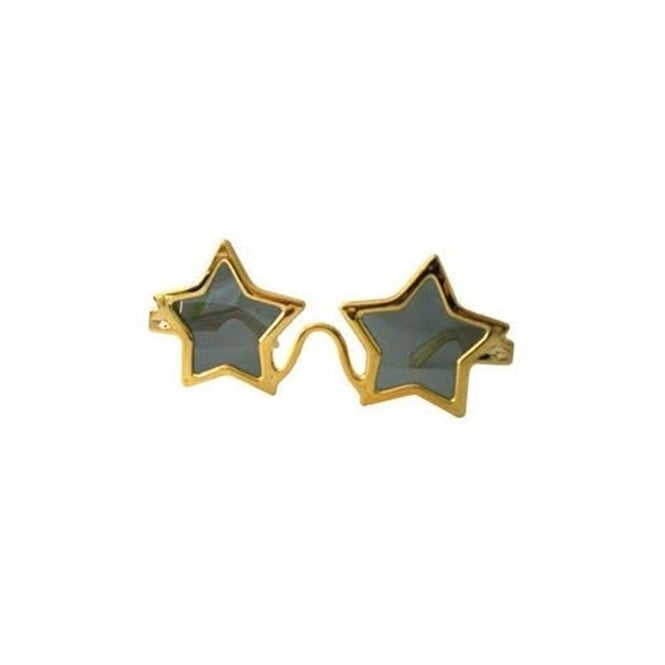 Gold Star Glasses - Accessory