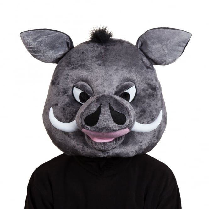 Gordon Warthog Mascot Head - Adult Accessory