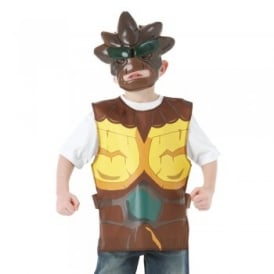 Gormiti Nick - The Lord of the Earth - Kids Costume Kit