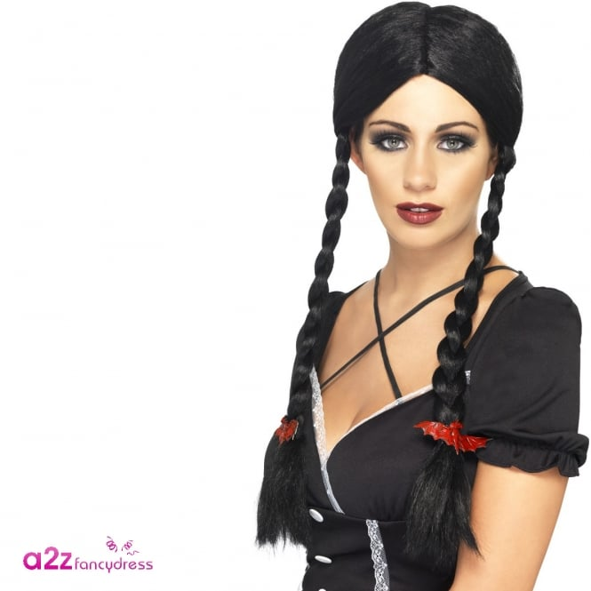 Gothic Schoolgirl Wig - Adult Accessory