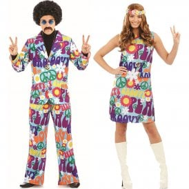 Groovy Hippie - Couples Costumes