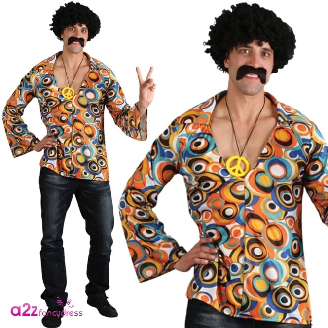 Groovy Hippie Shirt - Adult Accessory
