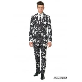 Halloween Black Icons - Adult Suitmeister