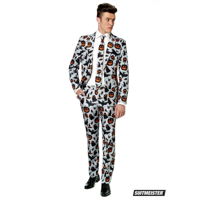 OPPOSUIT Halloween Grey Icons - Adult Suitmeister