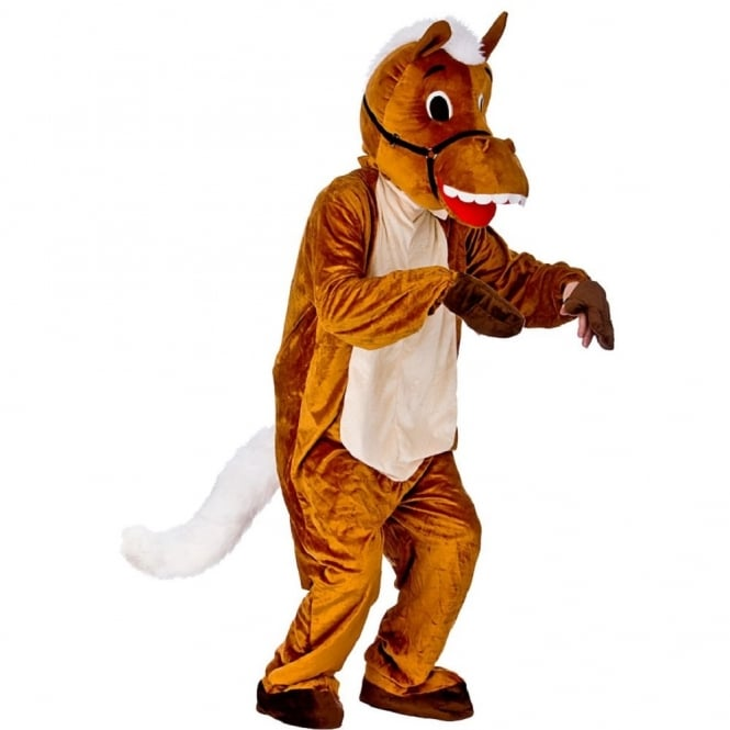 Happy Horse Mascot - Adult Costume