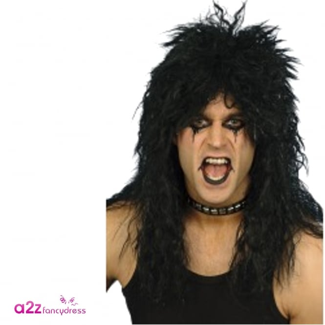 Hard Rocker Wig - Adult Accessory