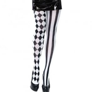 Harlequin Tights - Adult Accessory