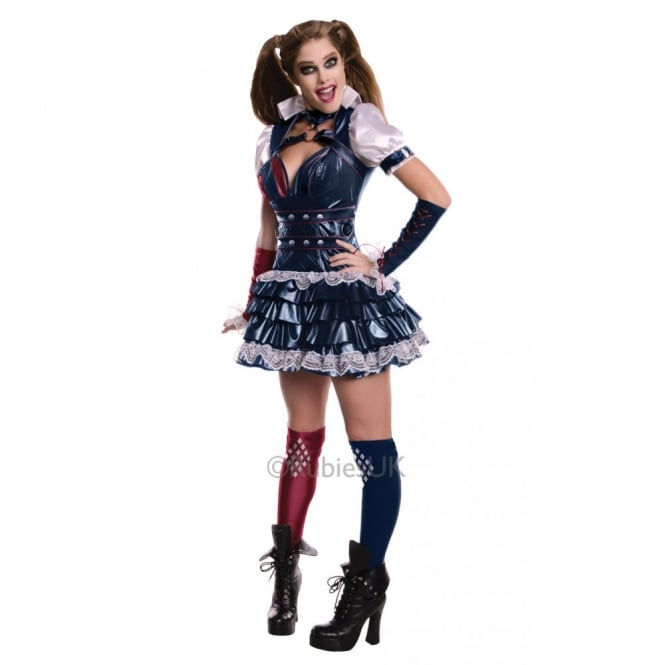 BATMAN ~ Harley Quinn Arkham - Adult Costume