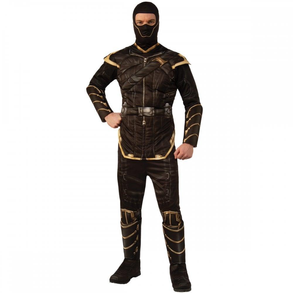 "Black Panther Mens Dlx Costume,X-Large,CHEST 44-46/"",WAIST 36-40/"",INSEAM 33/"""